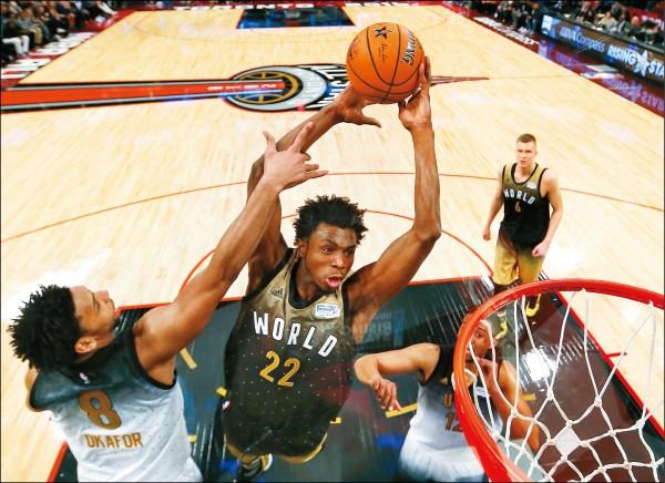 《NBA明星賽週》新秀挑戰賽美國勝 三分球、灌籃大秀今上場