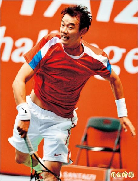 三太子盃男網賽》胖鵬配趕進4強 台將單打覆沒