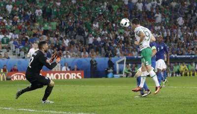 歐洲盃》愛爾蘭絕殺義大利 挺進16強碰冤家法國 (影音)