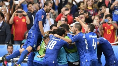 歐洲盃》「無敵艦隊」西班牙翻覆 義大利快意復仇晉8強