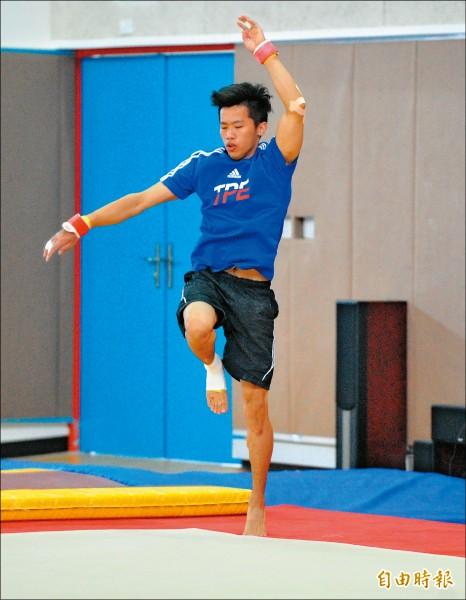里約奧運》李智凱丟開枴杖 煩惱「完美落地」