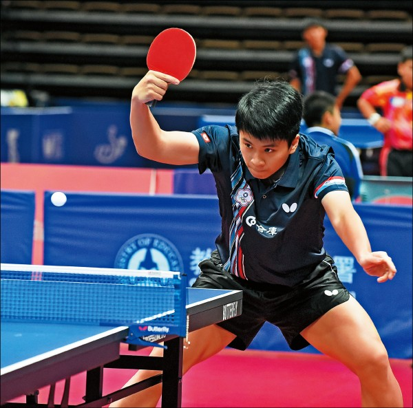 台北青少年桌球公開賽》3隊晉8強 台灣今搶冠