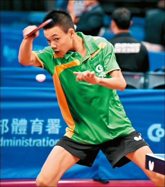 台北青少年桌球公開賽》誠正國中雙刀 床頭吵床尾和