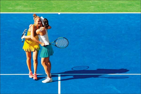 紐黑文女網賽》延續打謝熱力 莊佳容連2年爭冠