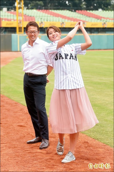 亞美當球評 第一次在台灣