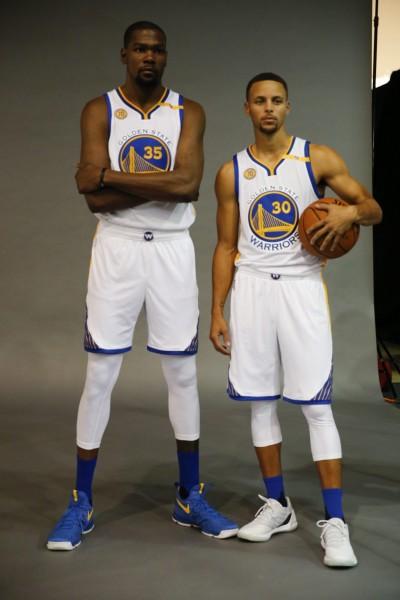 NBA》勇士雙拼媒體日合體 柯瑞:杜蘭特很適合這裡