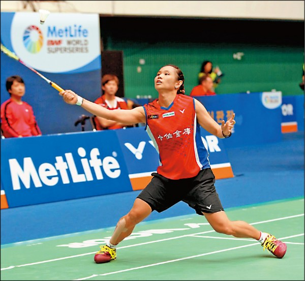 南韓羽球超級系列賽》一姊拚輸一姊 小戴止步8強