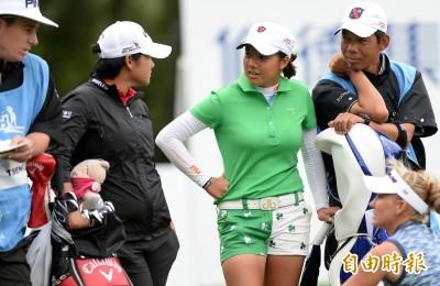 富邦LPGA》與曾雅妮初次邂逅 業餘小將張雅淳意外緊張