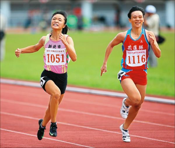 13歲奪全田賽百米冠軍 鄭歆瑩好young