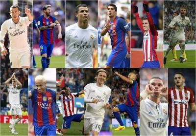 足球》金球獎30人候選名單出爐 13人來自西甲