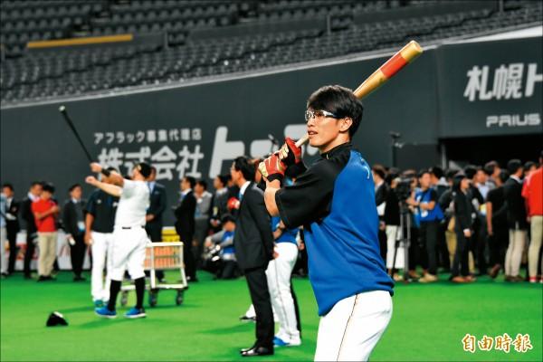 陽岱鋼9下揮擊 札幌告別秀?