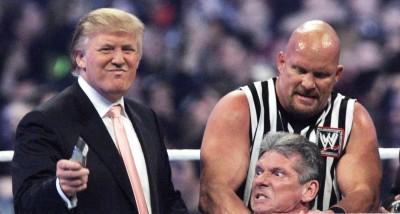 超狂!川普竟是摔角名人堂成員