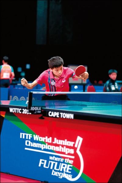 世界青少年桌球賽》最幼齒台灣隊 克法晉前4