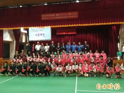 羽球》世界球后在高雄 日本青少年隊慕名而來