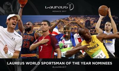 勞倫斯世界體育獎 最佳男運動員6搶1