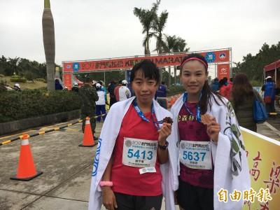 路跑》女團三缺一 游雅君、陳宇璿金門馬拉松半馬金包銀
