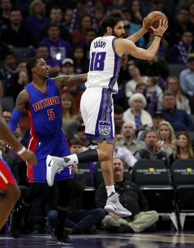 NBA》國王前鋒卡斯比受傷 預計缺陣2週