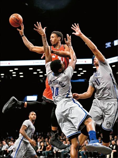 NBA》豪連休11場 籃網滿盤皆輸