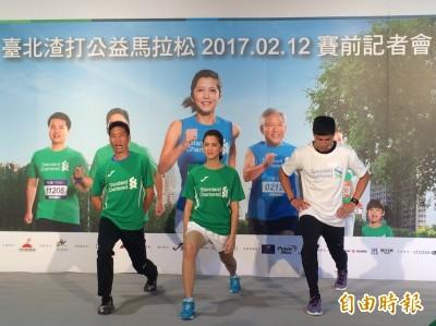 渣打馬拉松》跨欄王子陳傑嗆聲PK長跑 何盡平一句話完勝