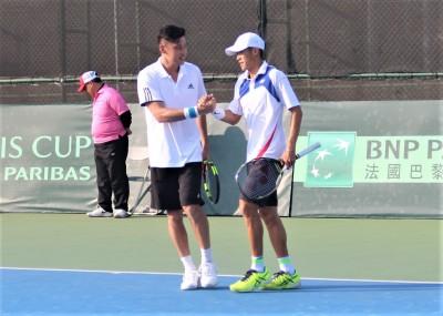台維斯盃》雙打沒守住 地主台灣提前不敵中國男網