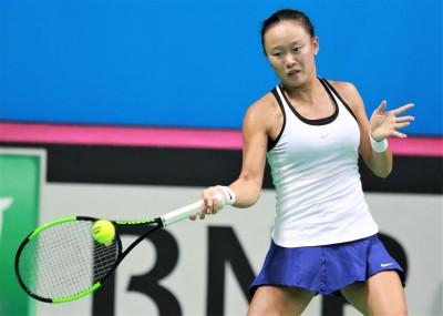 網球》張凱貞2連勝 安抵杜拜女單會內賽