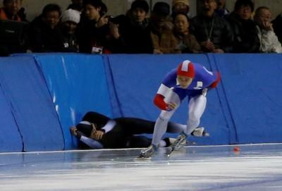 滑冰》宋青陽盡力滑出35.74秒 亞冬運第九名作收(影音)