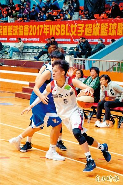 WSBL女籃》 林育庭 黃凡珊強攻 國泰7連霸
