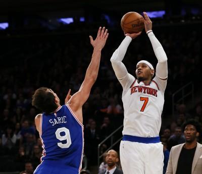 NBA》0.3秒砍致命中距離 甜瓜絕殺七六人止2連敗(影音)