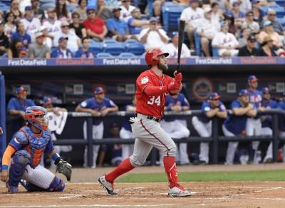 MLB》季後增肌7公斤 哈波熱身賽第一揮就炸裂(影音)