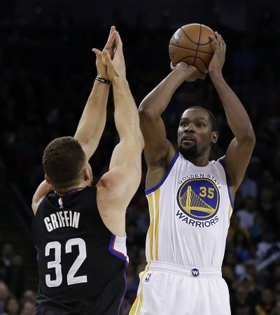 NBA》杜蘭特受傷 無緣迎戰籃網