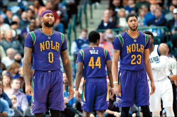 NBA》隊友不給力 鵜鶘雙塔做白工