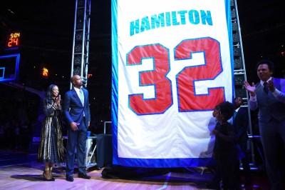 NBA》活塞退休32號球衣 「鐵面人」漢米爾頓感性告白(影音)