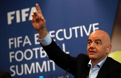 足球》FIFA主席警告川普 有入境禁令不能主辦世界盃