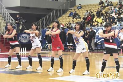 UBA》決賽熱血開戰 UBA Girls成另類嬌點
