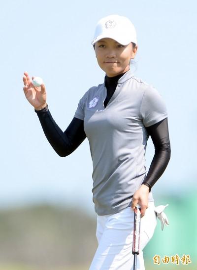 高球》T-Point女子高球賽 盧曉晴並列15名、菊地繪理香奪冠