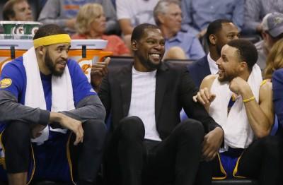 NBA》杜蘭特回歸在即 勇士盼他到季後賽復出