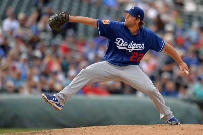 MLB》克蕭K功了得 熱身賽6局飆11K(影音)