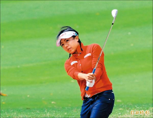 日本LPGA‧AXA高球賽》蔡佩穎並列11 台將最佳