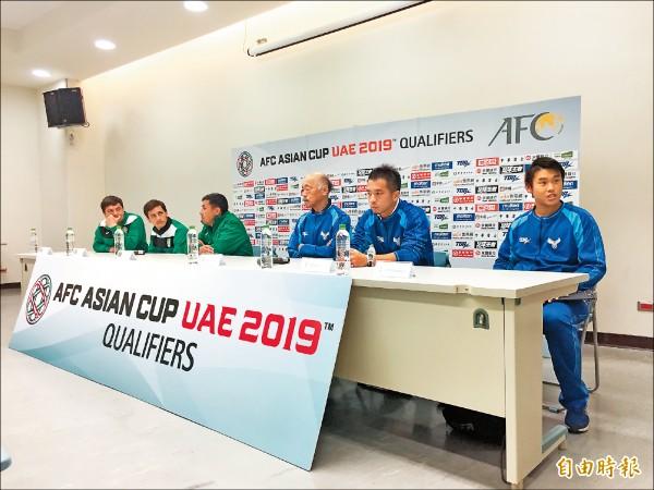 亞洲盃資格賽最終輪/旅外國腳站台 今拚首勝土庫曼