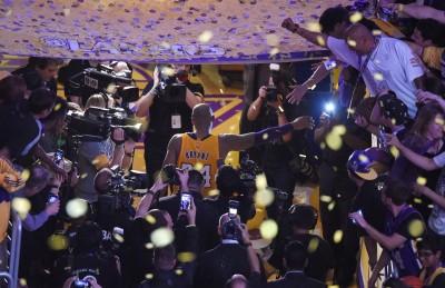 NBA》Kobe退休後最大的困擾 居然是看不到NBA(影音)