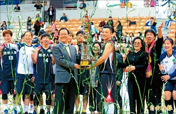 WSBL/國泰奪第24冠 劉君儀暫不言退