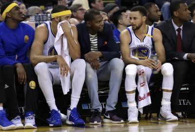 NBA》杜蘭特受傷缺陣  有望在季後賽前復出