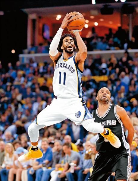 NBA》季後賽刷成績 灰熊康利自證身價