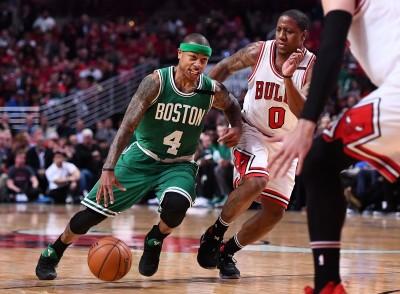 NBA》湯瑪斯33分領銜 塞爾提克客場扳平公牛