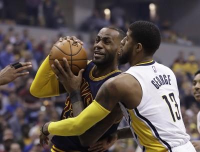 NBA》溜馬遭騎士橫掃出局 喬治:老是輸給同個人很沮喪