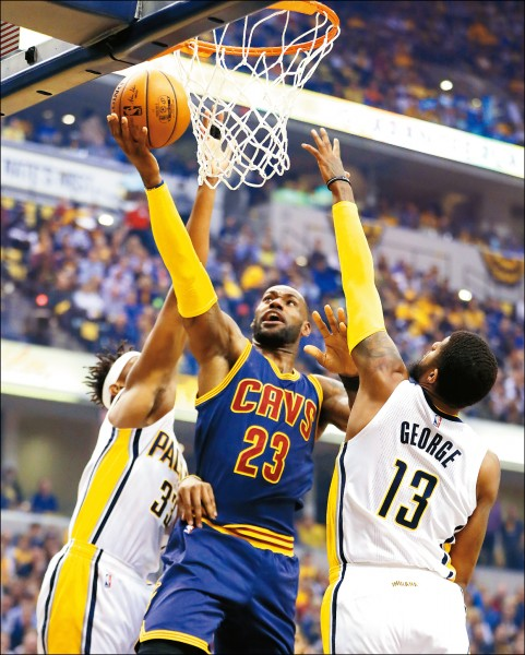 NBA》大帝致命三分彈 橫掃溜馬晉級
