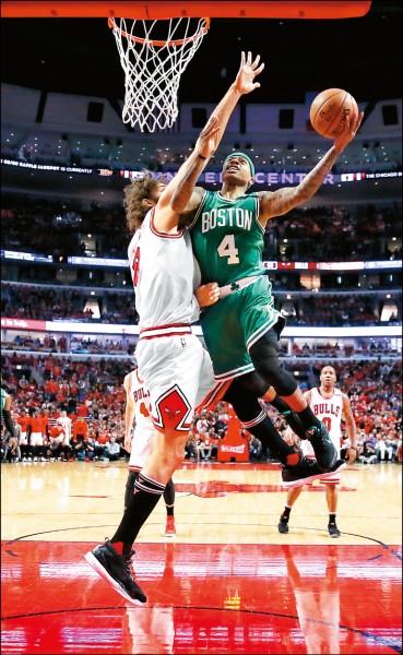 NBA》「矮腳虎」客場發威 綠衫軍扳平老八