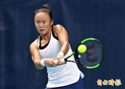 伊斯坦堡女網賽》紅土出師不利 張凱貞首戰受挫