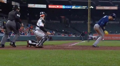 MLB》小白球會轉彎 光芒看板球星傻眼(影音)