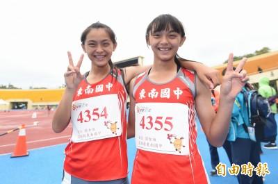 全中運》台灣最速雙胞胎!張秝羚、張秝榕200米金牌、銅牌到手